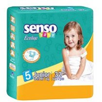 "<p>Подгузники ""SENSO BABY"" Ecoline JUNIOR 5</p>